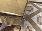 Клеенка силиконовая мягкое стекло ширина 140 см толщина 1 мм, фото 4