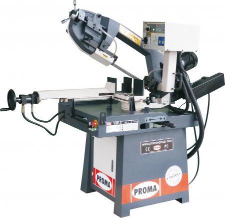 Ленточнопильный станок по металлу PROMA PPS-250HPA | Полуавтоматическая ленточная пила по металлу