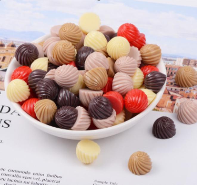 Шоколадні цукерки асорті 5 шт.