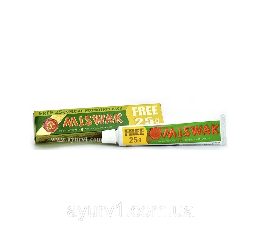 Зубная паста MISWAK 50 г + 25 г  / Dabur / 75 г