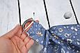 Накидка для кормления с сумочкой чехлом, Цветы, фото 2