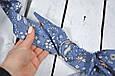 Накидка для кормления с сумочкой чехлом, Цветы, фото 3