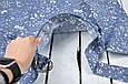 Накидка для кормления с сумочкой чехлом, Цветы, фото 6