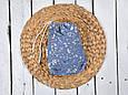 Накидка для кормления с сумочкой чехлом, Цветы, фото 5