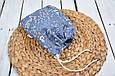 Накидка для кормления с сумочкой чехлом, Цветы, фото 7