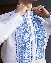 Вышитое платье и рубашка в комплекте, фото 3