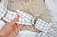 Накидка для кормления с сумочкой чехлом, Клетка, фото 2