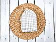 Накидка для кормления с сумочкой чехлом, Клетка, фото 4