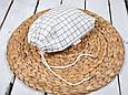 Накидка для кормления с сумочкой чехлом, Клетка, фото 5