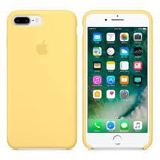 """Apple silicon case iPhone 7 Plus/iPhone 8 Plus  """" Pollen"""""""