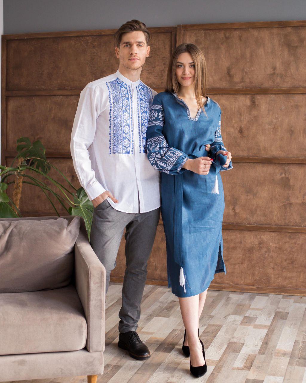 Мужские и женские вышиванки в комплекте