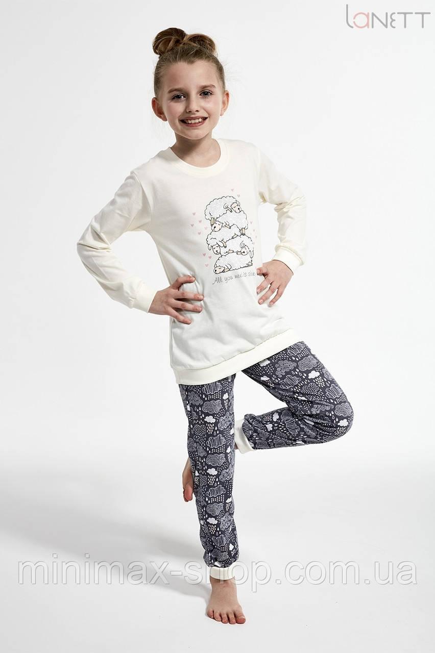 Пижама детская хлопковая SHEEP 594-19 CORNETTE Польша 2019