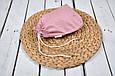Накидка для годування з сумочкою чохлом, Чайна троянда, фото 6