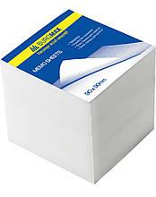 Блок білого паперу 90х90х90мм, не склеєний