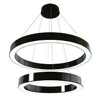 """Turman """"Два кольца 800-1000"""" 110W 8800Lm кольцевой светодиодный светильник"""