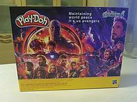 Масса для лепки Play-Doh с фигурками героев «Мстители 4»