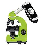 Микроскоп обучающий биологический для студентов Bresser Biolux SEL40x-1600xGreen (смартфон-адаптер) (Германия), фото 2
