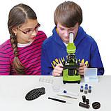 Микроскоп обучающий биологический для студентов Bresser Biolux SEL40x-1600xGreen (смартфон-адаптер) (Германия), фото 6