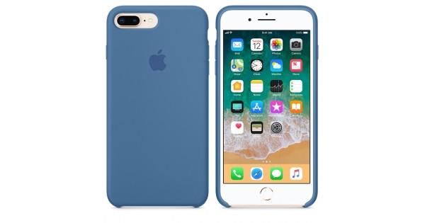 """Apple silicon case iPhone 7 Plus/iPhone 8 Plus """" Denim blue"""""""