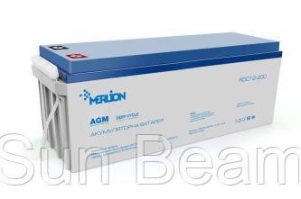 У нас новое поступление AGM аккумуляторов Merlion серии DC
