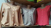 Модная женская кофточка с пуговичками жемчужинками