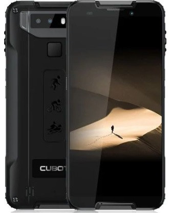 "Смартфон Cubot Quest 4/64Gb Black, 12/8Мп, 1 SIM, 5.5"" IPS, 8 ядер, 4000 мАч, 4G (LTE)"