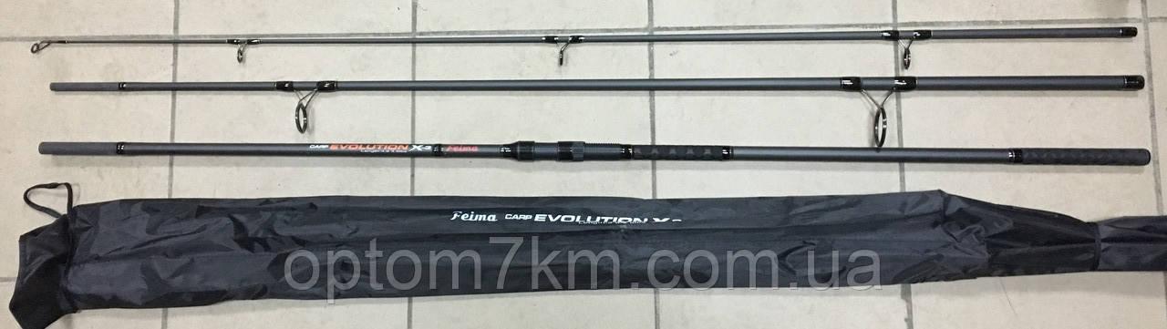 Спиннинг карповый Feima Carp Evolution X3 390 тест 3.5LBS