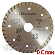 Диск алмазный STANLEY  STA38217  d=125 мм керамика/ посадка 22,2 мм / сегметированный (Turbo)
