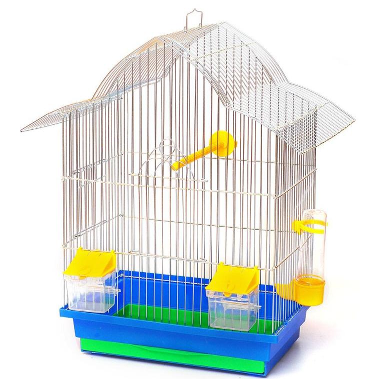 Клітка Мальва цинк для дрібних птахів, 33*23*45 см