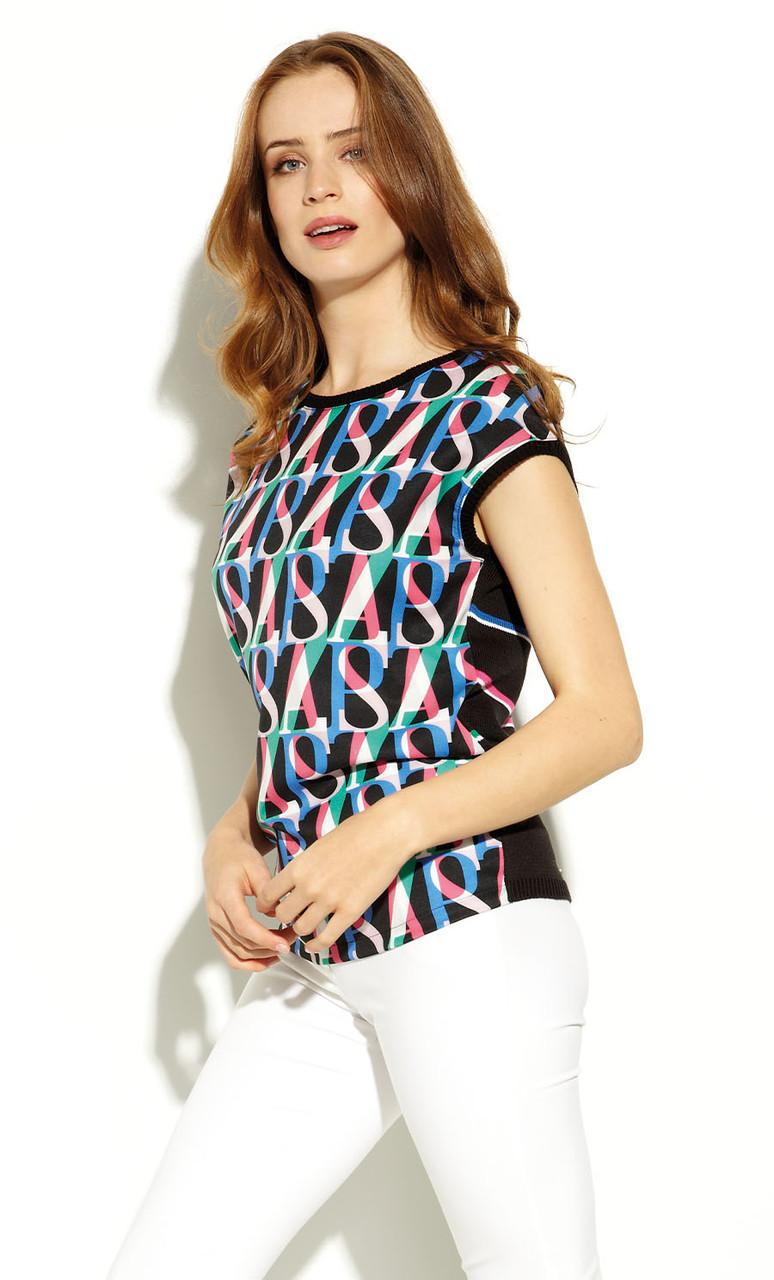 Блуза женская Asama Zaps черного цвета. Коллекция весна-лето 2020
