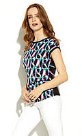 Блуза женская Asama Zaps черного цвета. Коллекция весна-лето 2020, фото 1