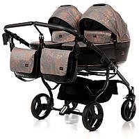 Дитяча коляска для двійні Tako Corona Duo 01