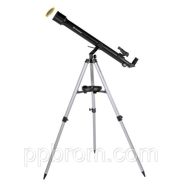 Телескоп с адаптером для камеры смартфона Bresser Stellar Solar 60/800 AZ (carbon) (Германия)