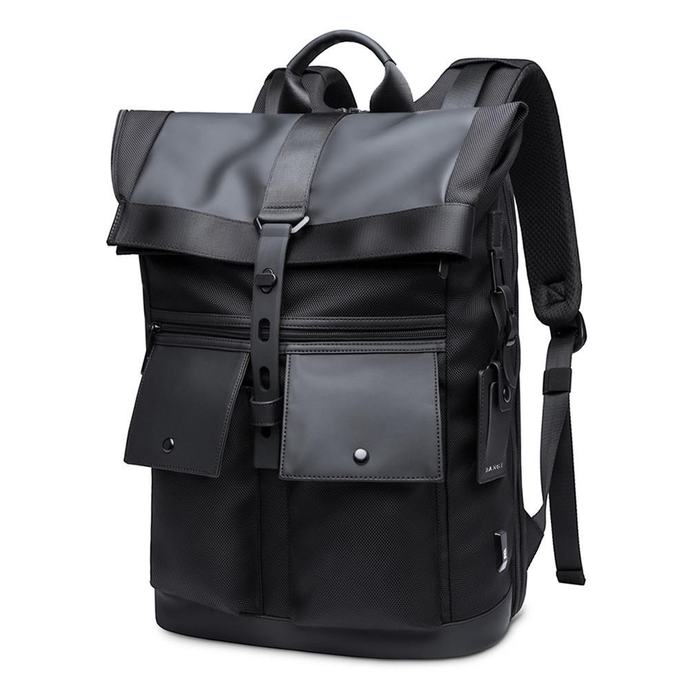 Рюкзак роллтоп Bange BG-G65 с отделением для ноутбука и планшета, влагозащищенный, 30л