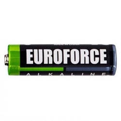 Батарейки EUROFORCE LR03/AAA Shrink (Alkaline)