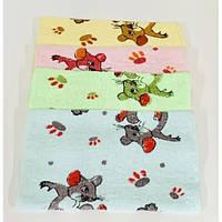 Салфетка махра , набор салфеток кухонных, полотенца для кухни Мышонок