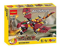 Конструктор Decool Architect 4v1 міфічні створіння (223 Деталей), фото 1