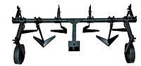 Пропольник плоскорез широкорядный для мототрактора (с колесами), фото 1