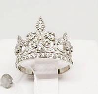Колечко Корона серебряное, фото 1