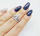 Корона кольцо серебро, фото 4