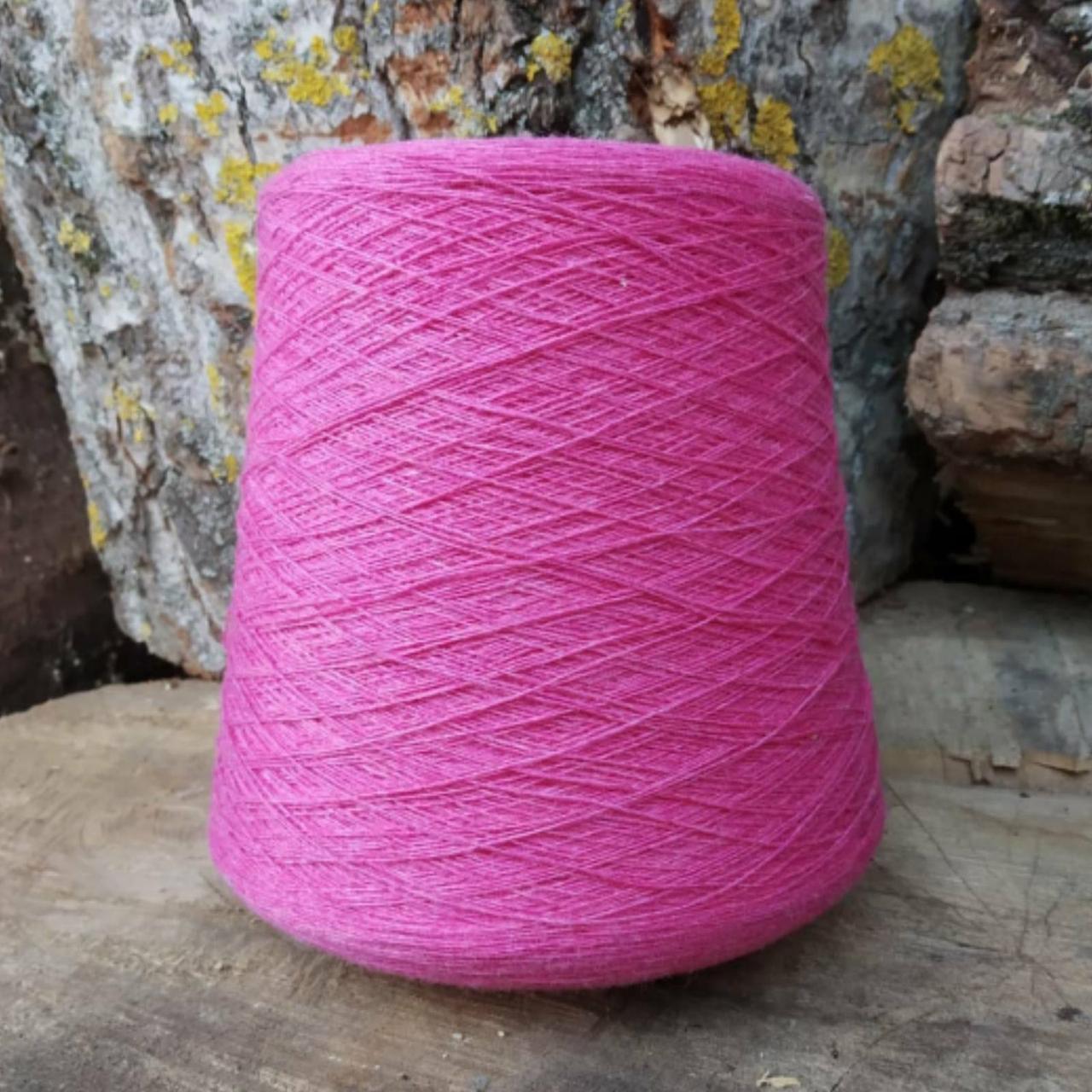 Кардная шерсть  art. LANEROSSI  розовый коррал