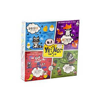 Карточная игра 4 В 1 Yenot ДаНетки YEN-02-01 на украинском Данко Тойс - 224082