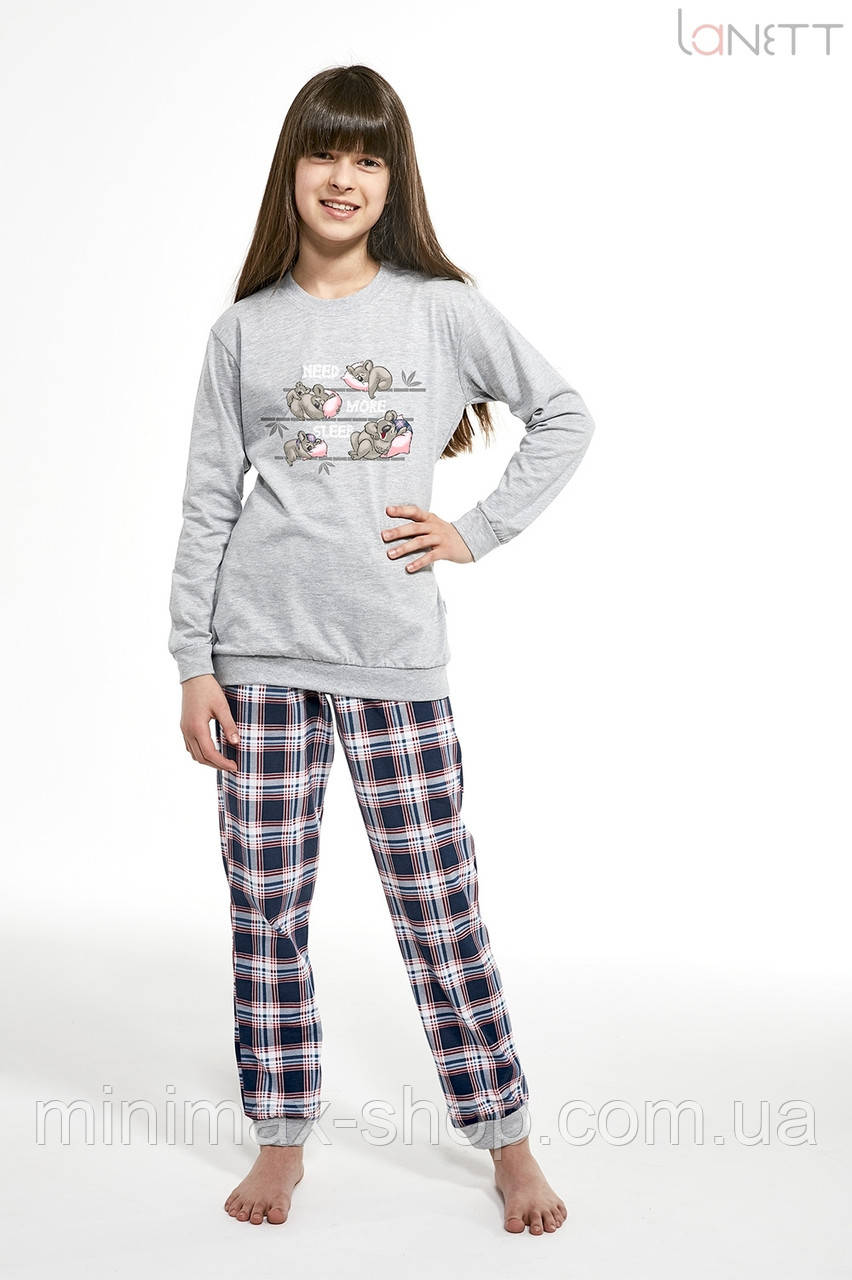 Пижама детская хлопковая KOALA 594-19 CORNETTE Польша 2019