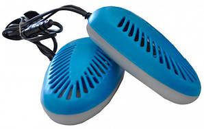 Сушарка для взуття з антибактеріальним ефектом ECB - 12/220K ультрафіолетова живлення від мережі потужність