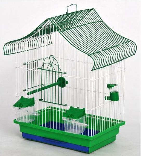 Клітка Міні-1 для дрібних птахів, 33*23*47 см