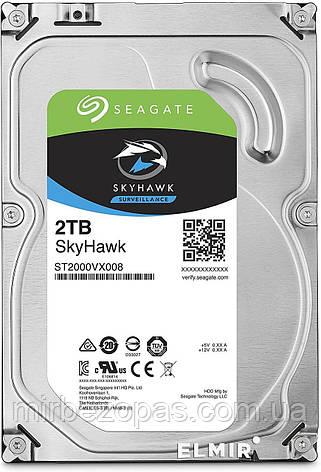 Жесткий диск Seagate Skyhawk ST2000VX008 2Tb (Хит продаж), фото 2