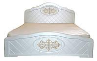 Кровать Лючия с патиной двуспальная