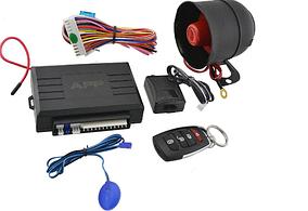 Автомобильная сигнализация APP Car Alarm 2 WAYKD 3000 с сиреной