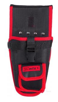 Кобура для шуруповерта с карманом для бит и сверл, MTX (902439)