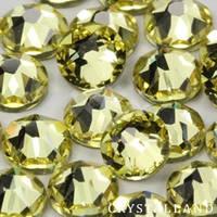 Стрази скляні SS 3 Jonquil, 100 шт